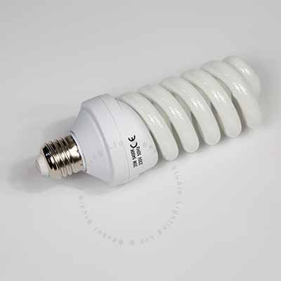 35W Low energy E27 spiral bulb