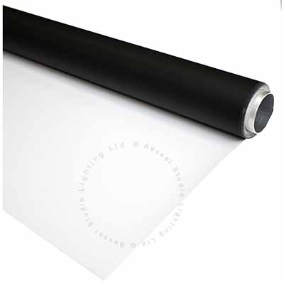 2.7m x 8m Black and White Double Sided Vinyl Background