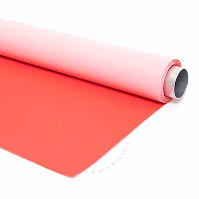 145cm x 4m Red and Pink Double Sided Vinyl Background