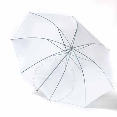 90cm Umbrella 7mm stem - White Flash through