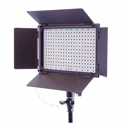 Ultra Thin LED Video Lamp with Barn Doors