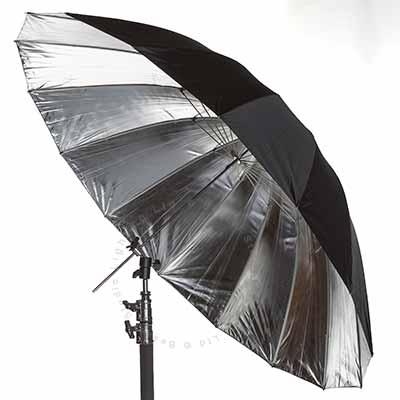 150cm (60inch) Parabolic umbrella - Silver reflective