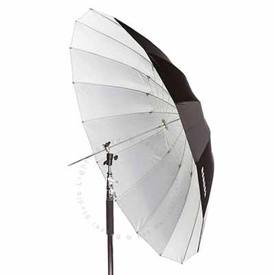150cm (60inch) Parabolic umbrella - White reflective