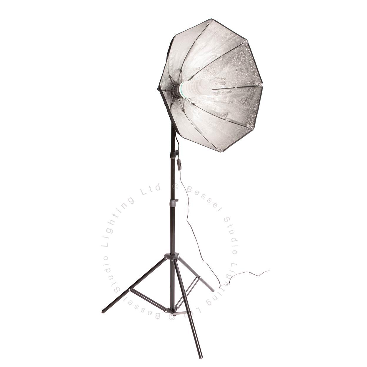 425W - 60cm Octabox Kit (1 x 85W low energy)