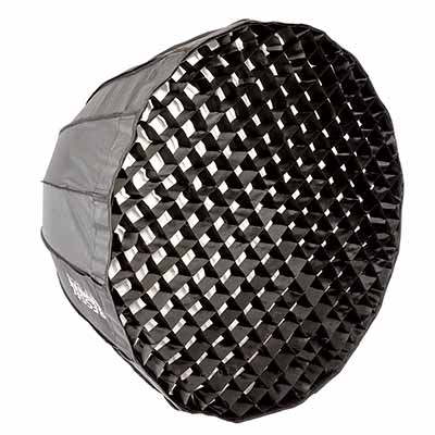 70cm Parabolic 16 sided Softbox with 4cm grid - S-Fit