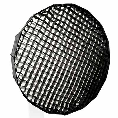 90cm Parabolic 16 sided Softbox with 4cm grid - S-Fit