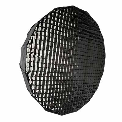 120cm Parabolic 16 sided Softbox with 4cm grid - EL-Fit