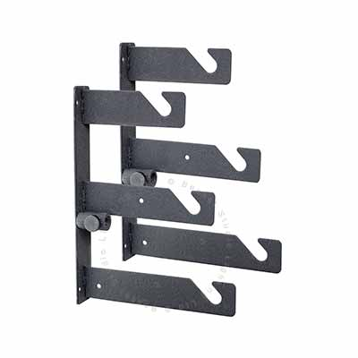 Pair of brackets for wall / ceiling mount kit - 3 roll support