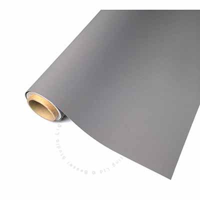 1.45m x 3m Grey Single Sided Vinyl Background